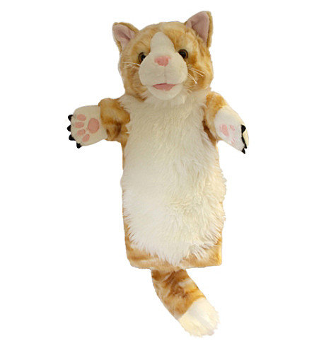 THE PUPPET COMPANY Ginger cat hand puppet