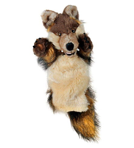THE PUPPET COMPANY Wolf hand puppet