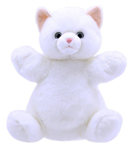 THE PUPPET COMPANY Cuddly Tumms cat hand puppet