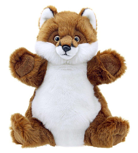 THE PUPPET COMPANY Fox hand puppet