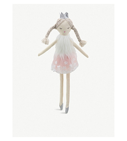 THE PUPPET COMPANY Crowned ballerina doll