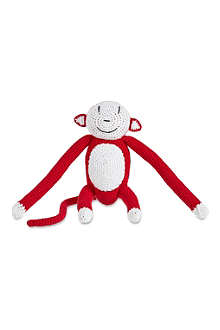ANNE CLAIRE PETIT Knitted monkey