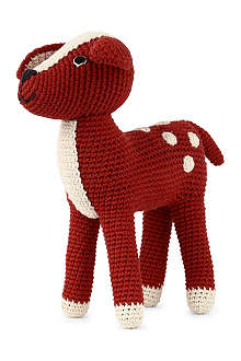 ANNE CLAIRE PETIT Crochet Bambi soft toy