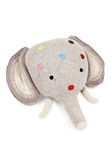 ANNE CLAIRE PETIT Knitted elephant head