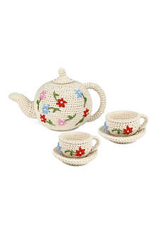 ANNE CLAIRE PETIT Knitted tea set