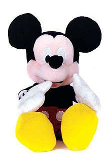 MICKEY & MINNIE MOUSE Posh Paws hand clapping Mickey Mouse