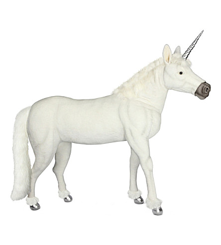 HANSA Unicorn soft animal animated figure 145cm