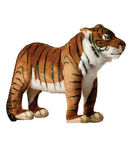 HANSA Tiger soft animal figure 76cm