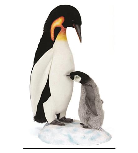 HANSA Animated standing emperor penguin 98cm