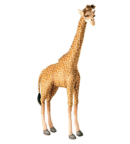 HANSA Giraffe soft animal figure 133cm
