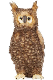 HANSA Owl plush toy