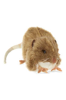 HANSA Brown mouse toy 12cm
