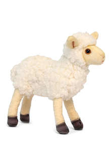 HANSA Beige little lamb plush toy