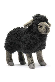 HANSA Black little lamb plush toy