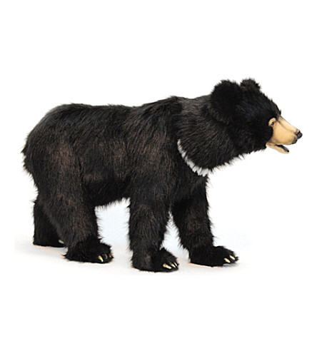 HANSA Black bear toy 105cm