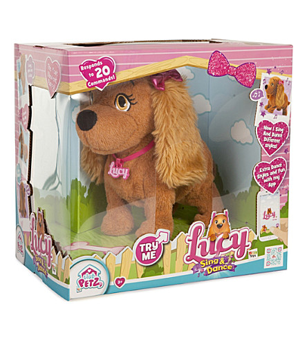 CLUB PETZ Lucy the Dog sing and dance toy