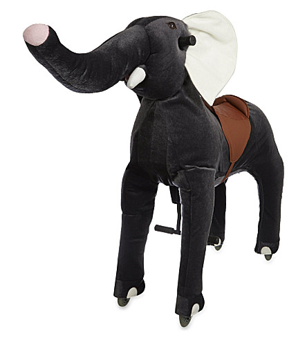 ANIMAL-RIDING Large elephant ride-on toy (Grey