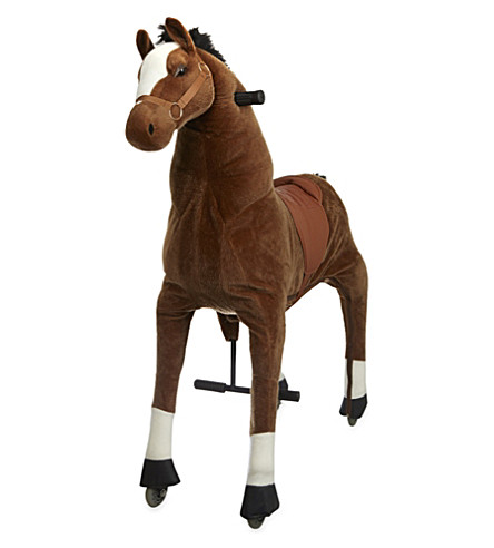 ANIMAL-RIDING Large horse ride-on toy (Brown