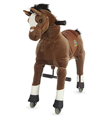ANIMAL-RIDING Small horse ride-on toy (Brown
