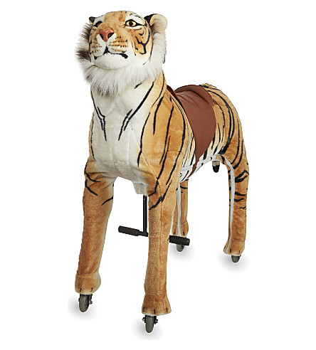 ANIMAL-RIDING Large tiger ride-on toy (Tiger