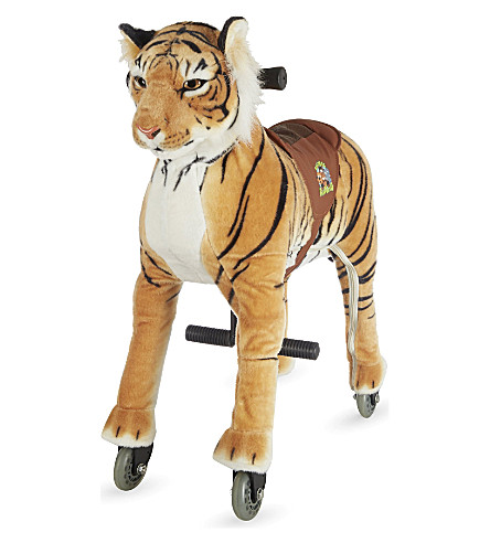 ANIMAL-RIDING Small tiger ride-on toy (Tiger