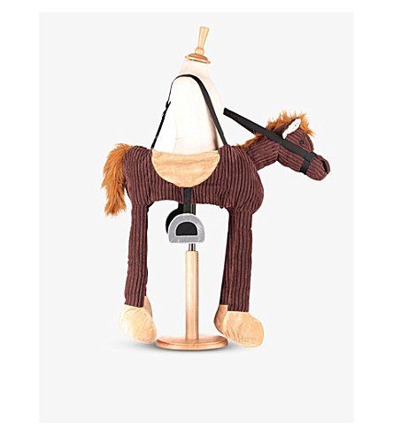 ANIMAL ANTICS Ride on pony (Brown