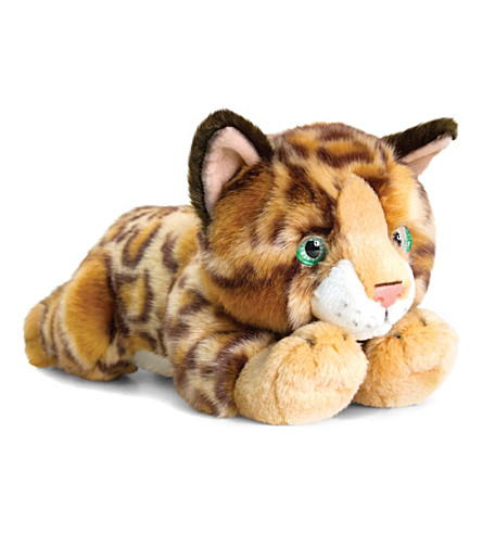 KEEL Bengal cat plush 30cm