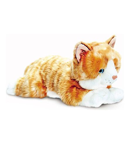 KEEL Ginger cat plush 30cm