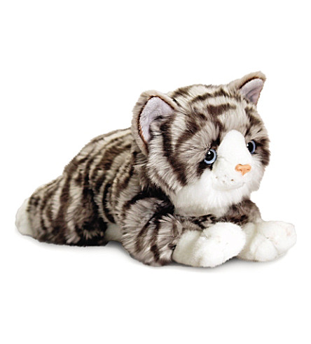 KEEL Jade grey cat plush 30 cm