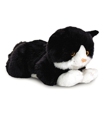 KEEL Smudge black cat plush 30 cm