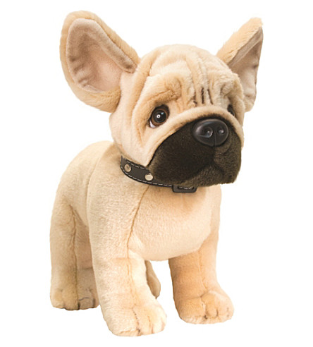 KEEL French bulldog soft plush toy 30cm