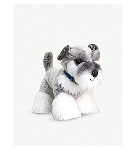 KEEL Schnauzer soft plush toy 30cm