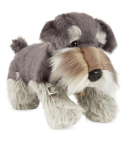 KEEL Fergus grey schnauzer puppy plush 35cm