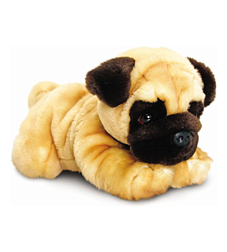 KEEL Reggie Pug plush toy 35cm