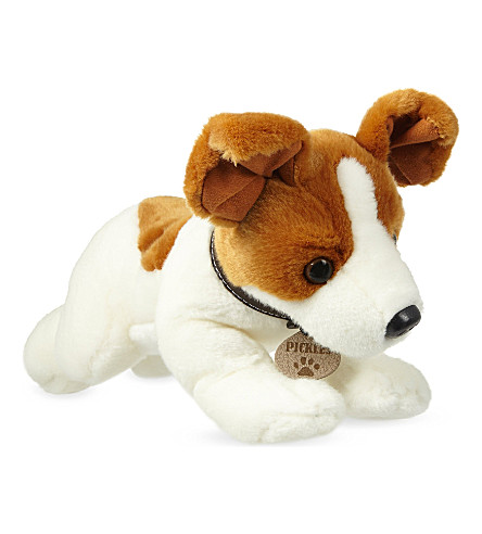 KEEL Pickles Jack Russell soft plush toy 35cm