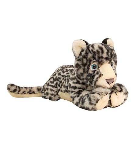 KEEL Snow leopard soft toy 33cm