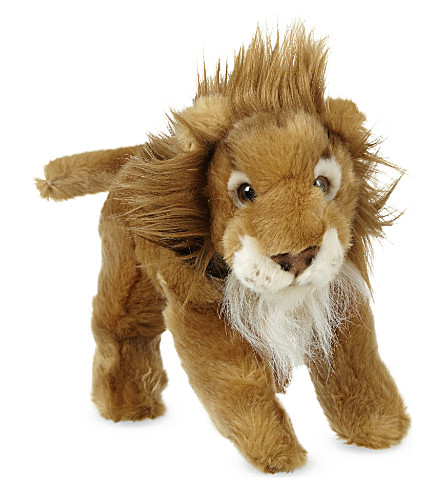 KEEL African lion soft plush toy 30cm