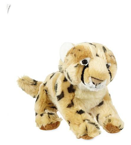 KEEL 猎豹柔和毛绒玩具33厘米