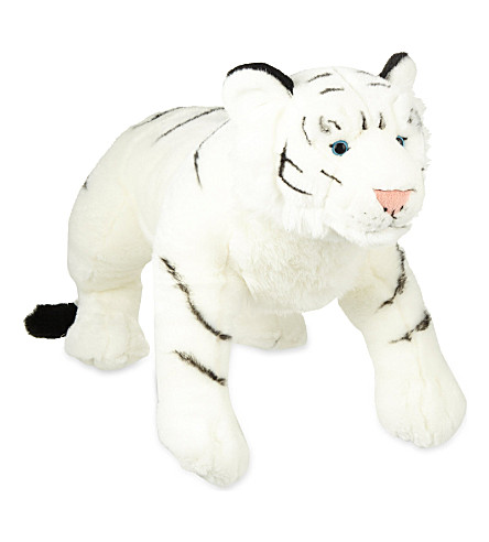 KEEL White tiger soft plush toy 58cm