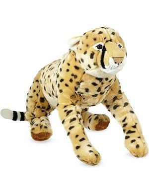 KEEL Cheetah soft plush toy 58cm