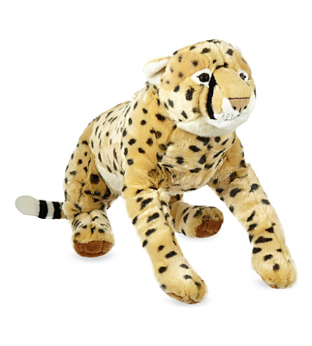 KEEL Cheetah soft plush toy 58cm