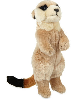 KEEL Meerkat soft plush toy 24cm
