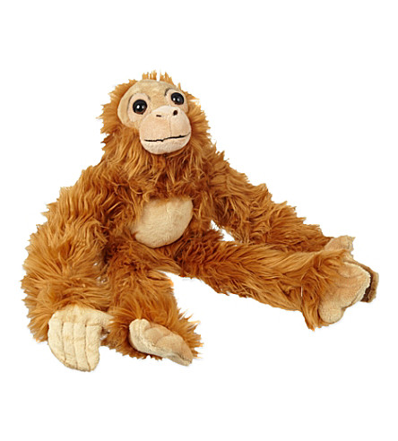 KEEL Orangutan soft plush toy 50cm