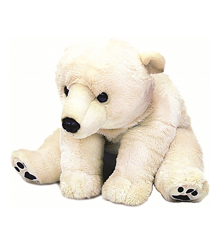 KEEL Polar Bear soft toy 110cm