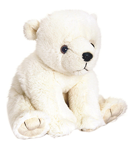 KEEL Polar bear soft toy 25cm