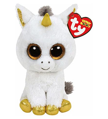 UNICORN UNIVERSE Pegasus beanie boo soft toy