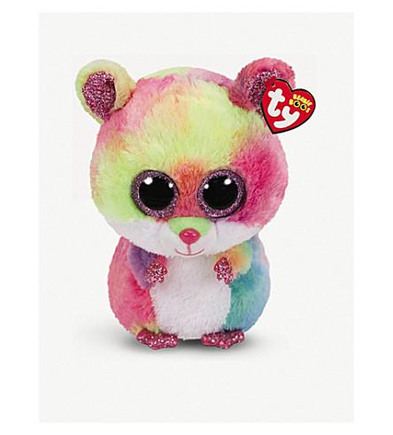 TY Boo Buddy Rodney hamster soft toy 22cm