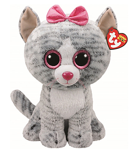 TY Boo Buddy Kiki Cat soft toy