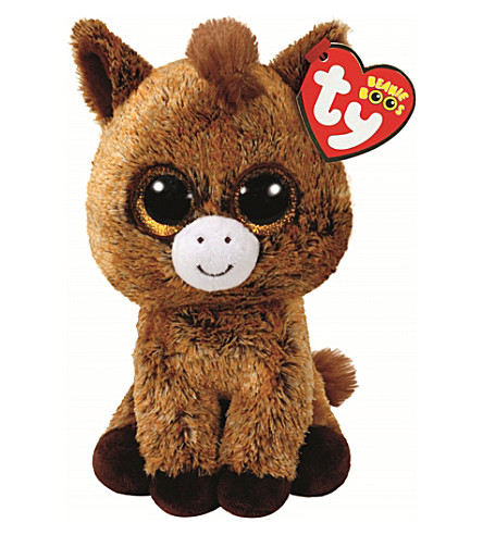 TY Beanie Boo Harriet horse soft toy