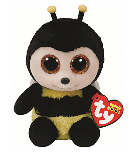 TY Buzby Bumblebee Boo Buddy soft toy